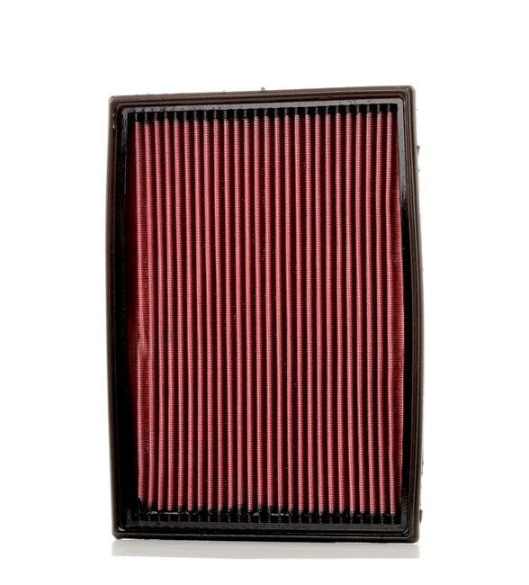 K&N Filters: Original Luftfiltereinsatz 33-2212 (Länge: 286mm, Breite: 203mm, Höhe: 29mm) mit vorteilhaften Preis-Leistungs-Verhältnis