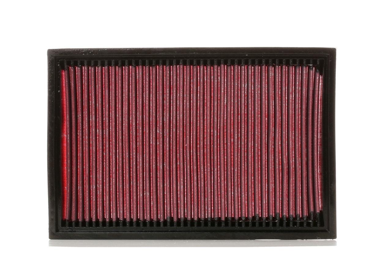 K&N Filters: Original Luftfiltereinsatz 33-2221 (Länge: 283mm, Länge: 283mm, Breite: 187mm, Höhe: 29mm)
