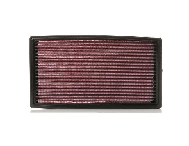 K&N Filters: Original Luftfilter 33-2819 (Länge: 264mm, Breite: 143mm, Höhe: 27mm)