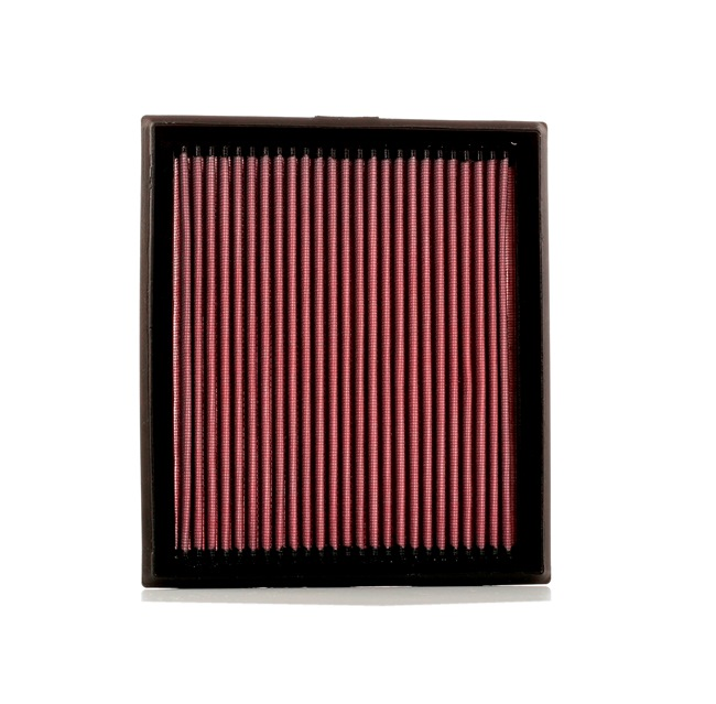 K&N Filters: Original Luftfilter 33-2873 (Länge: 233mm, Breite: 205mm, Höhe: 25mm)