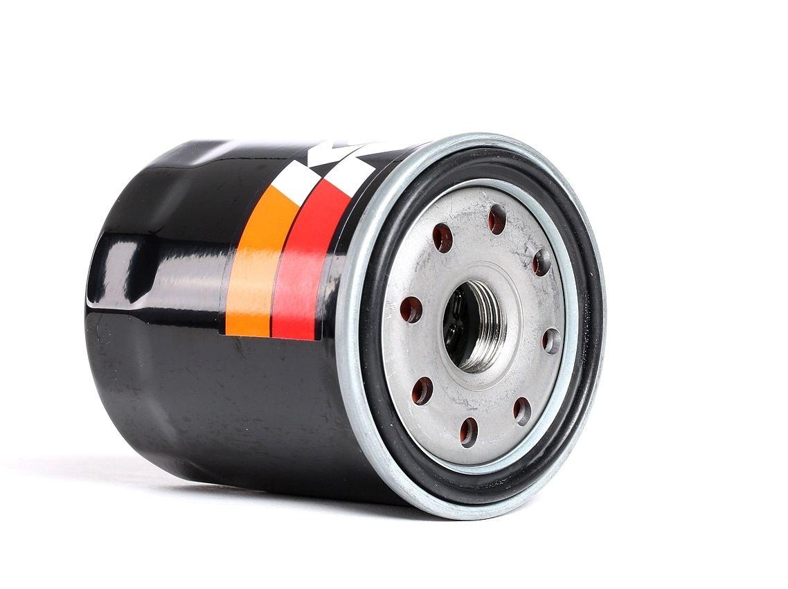 K&N Filters: Original Motorölfilter PS-1002 (Ø: 76mm, Ø: 76mm, Höhe: 95mm)