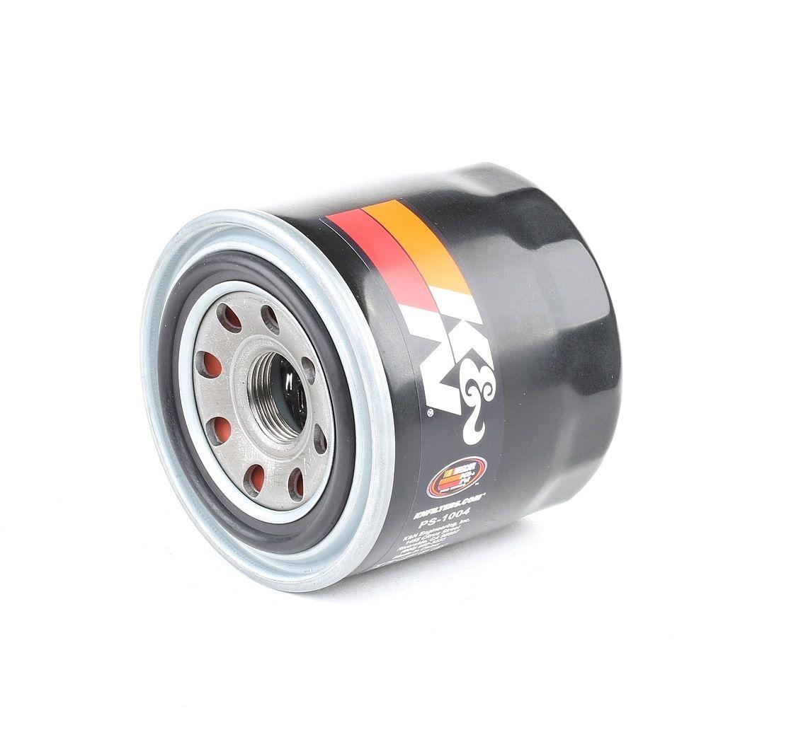 K&N Filters: Original Motorölfilter PS-1004 (Ø: 80mm, Ø: 80mm, Höhe: 87mm)