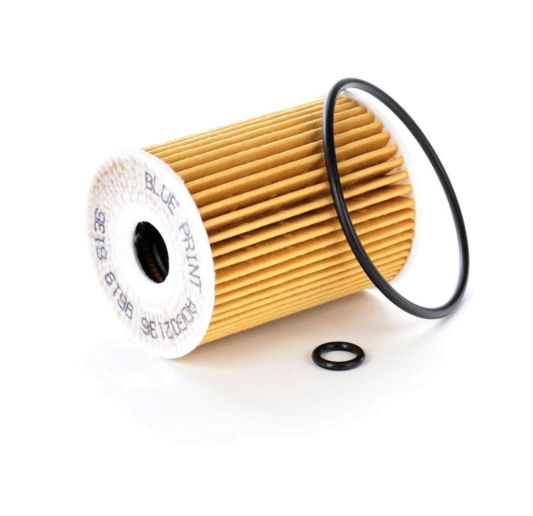 ADG02136 BLUE PRINT mit Dichtung, Filtereinsatz, mit Einspritzventil Innendurchmesser: 19,0mm, Ø: 65,0mm, Höhe: 83mm Ölfilter ADG02136 günstig kaufen