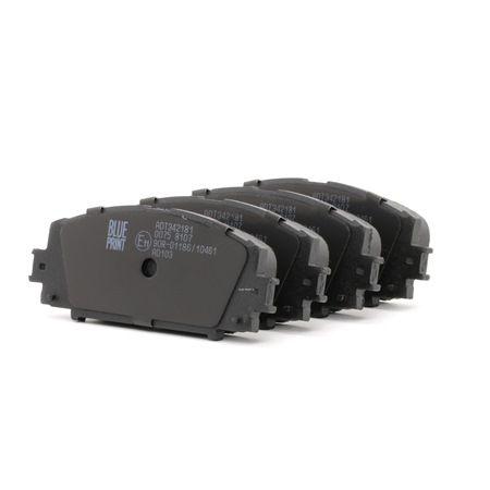 Bremsbelagsatz, Scheibenbremse ADT342181 — aktuelle Top OE 04465 52260 Ersatzteile-Angebote