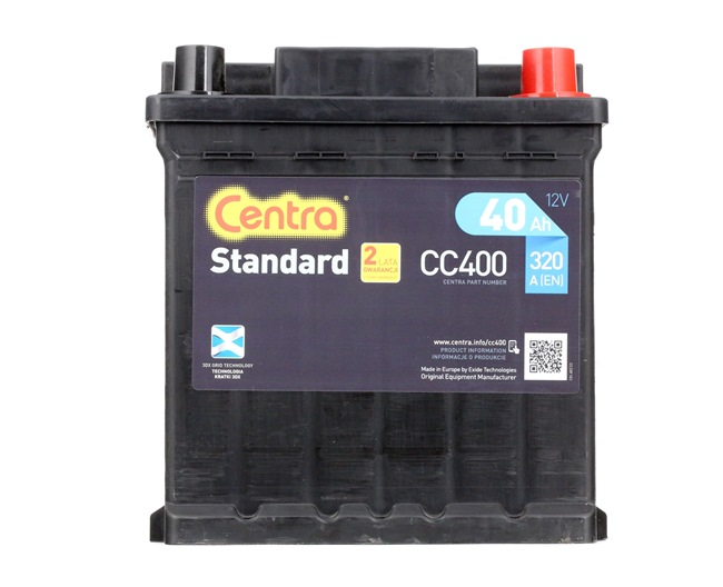 CENTRA Batteri CC400