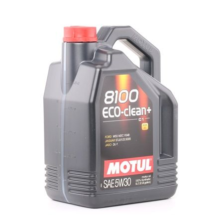 C1 MOTUL 8100 5W-30, ECO-CLEAN+, Inhalt: 5l Motoröl 101584 günstig kaufen