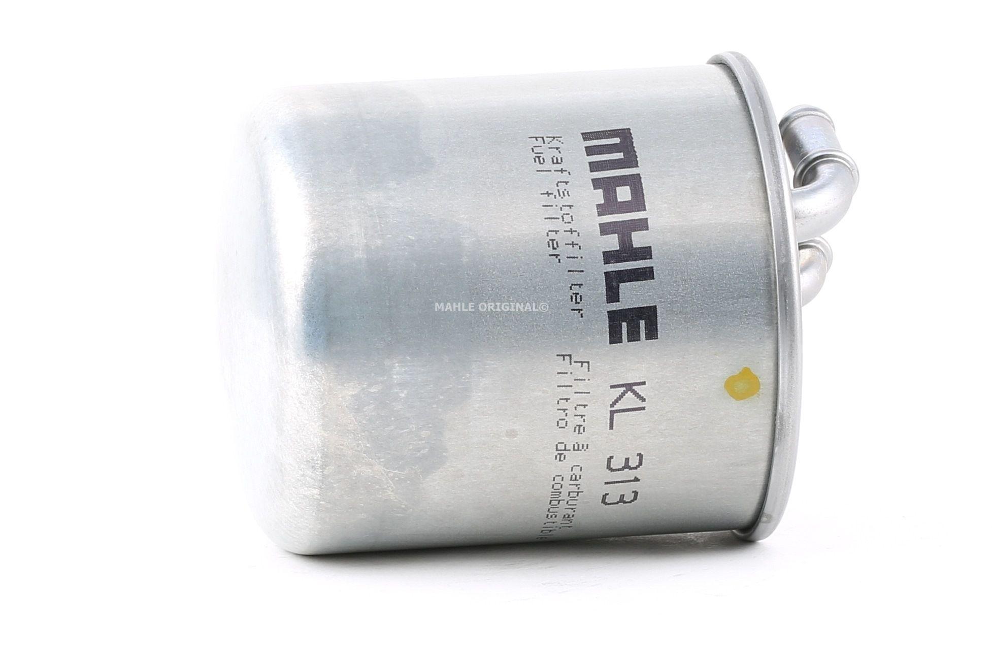 Achat de 79920767 MAHLE ORIGINAL Filtre de conduite Hauteur: 120mm, Diamètre du boîtier: 87mm Filtre à carburant KL 313 pas chères