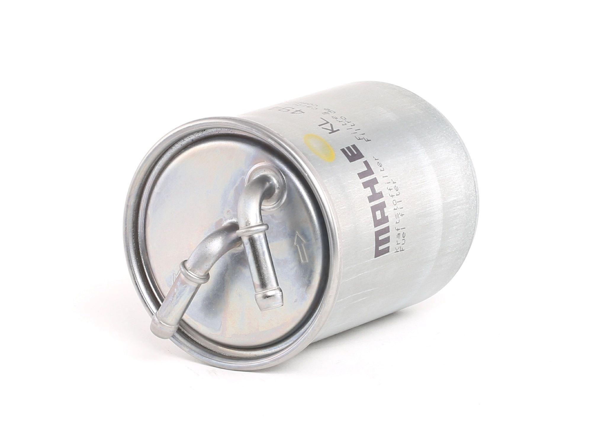 Palivový filtr KL 494 s vynikajícím poměrem mezi cenou a MAHLE ORIGINAL kvalitou