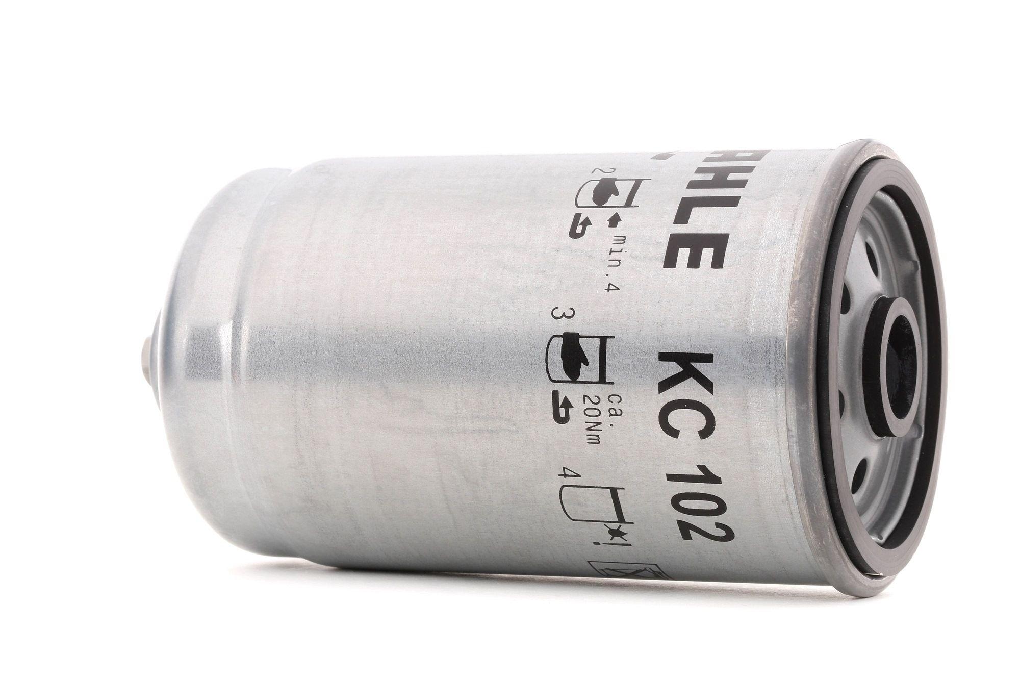 KC 102 MAHLE ORIGINAL Degvielas filtrs MAN G - iegādāties tagad