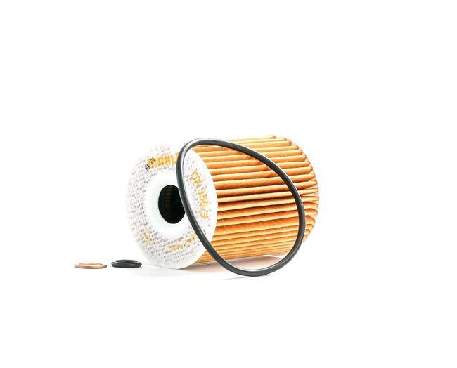 OX3553DECO MAHLE ORIGINAL Filtereinsatz Innendurchmesser 2: 19,5mm, Ø: 65,0mm, Höhe: 83,0mm Ölfilter OX 355/3D günstig kaufen