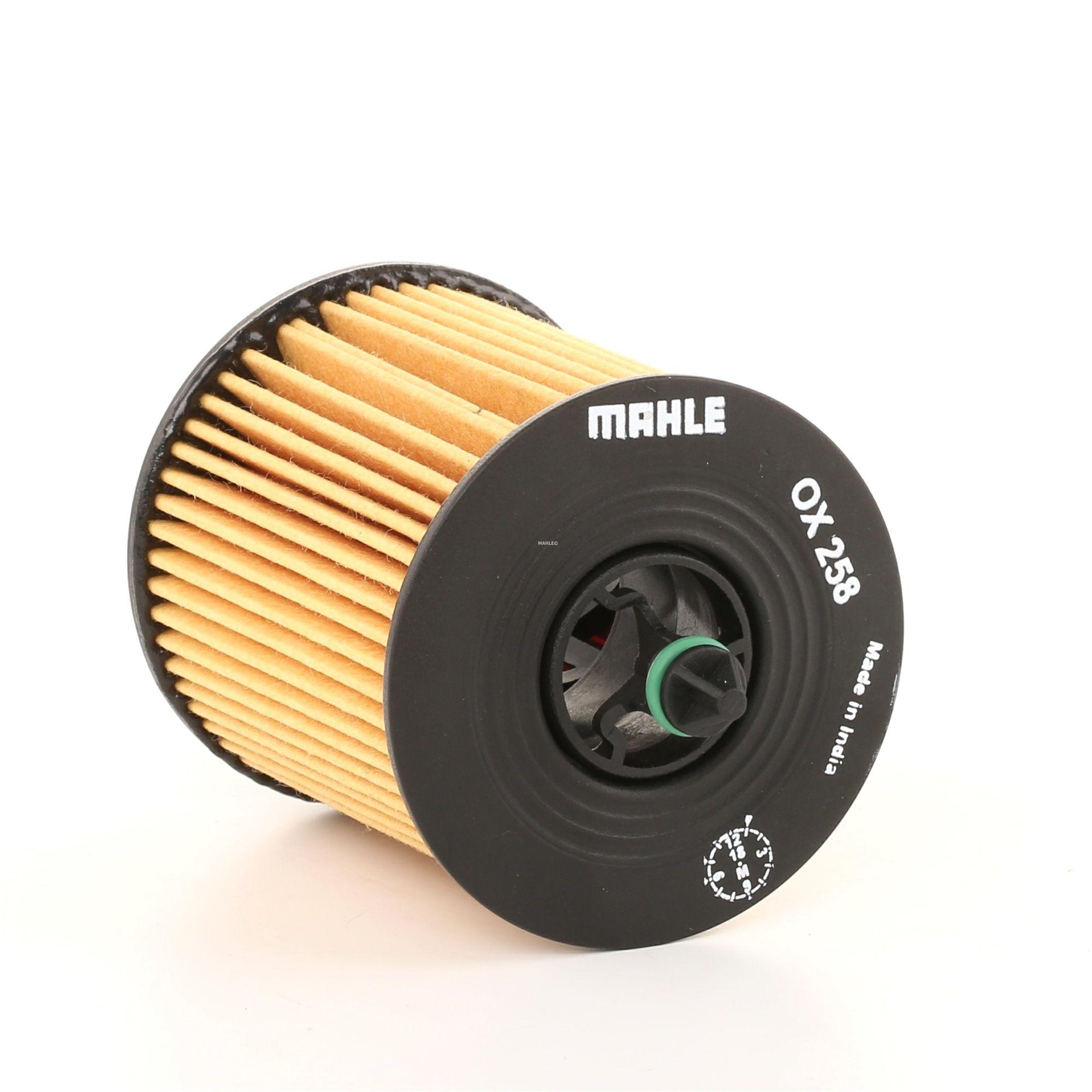 Vesz OX258DECO MAHLE ORIGINAL Szűrőbetét Ø: 62,0mm, Ø: 62,0mm, Magasság: 89mm, Magasság 1: 66mm Olajszűrő OX 258D alacsony áron