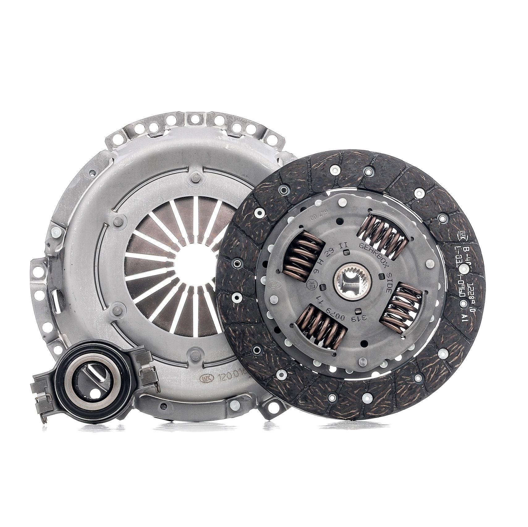 VW POLO 2015 Kupplungssystem - Original LuK 620 1943 00 Ø: 200mm