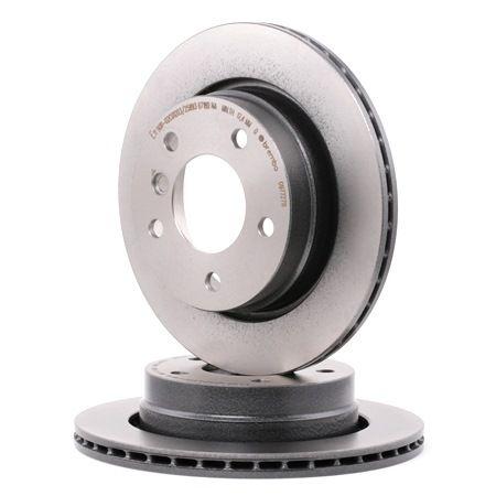brembo disque de frein coated disc line essieu arri re. Black Bedroom Furniture Sets. Home Design Ideas