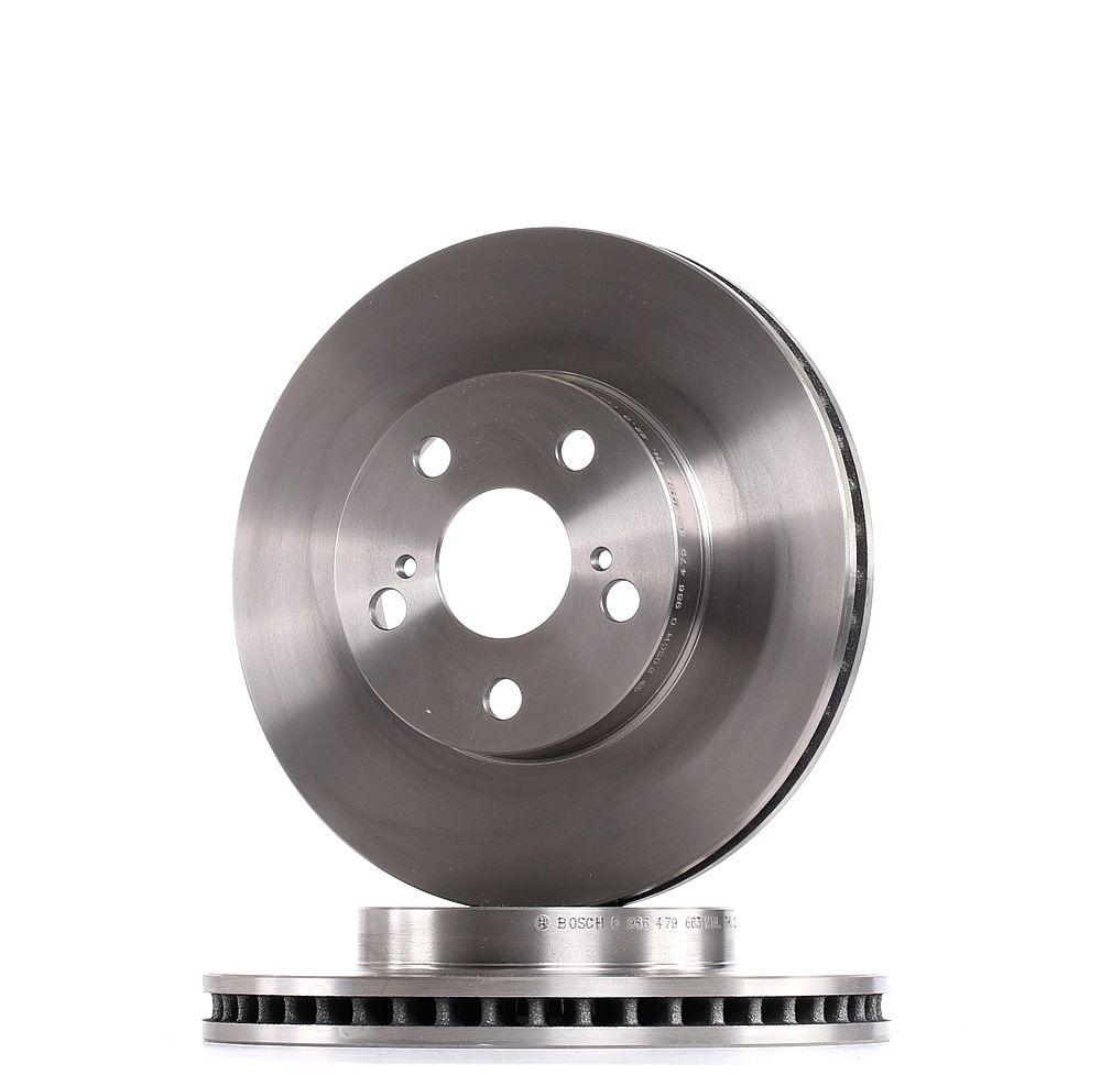 BOSCH: Original Bremsscheiben 0 986 479 663 (Ø: 255mm, Lochanzahl: 5, Bremsscheibendicke: 25mm)