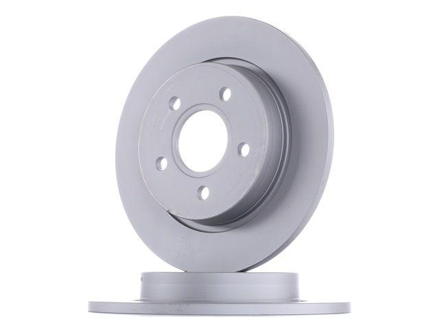ATE: Original Bremsscheibe 24.0111-0171.1 (Ø: 271,0mm, Lochanzahl: 5, Bremsscheibendicke: 11,0mm)