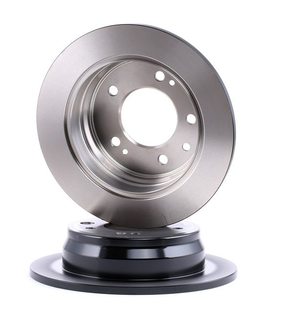 DF6123 TRW Voll, lackiert Ø: 262mm, Lochanzahl: 5, Bremsscheibendicke: 10mm Bremsscheibe DF6123 günstig kaufen