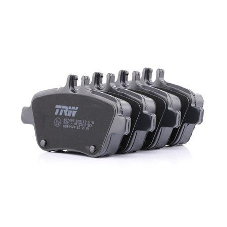 TRW: Original Bremsklötze GDB1920 (Höhe: 59,1mm, Dicke/Stärke: 18,5mm) mit vorteilhaften Preis-Leistungs-Verhältnis