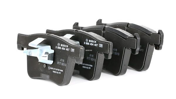 Brake Pad Set, disc brake 0 986 494 487 for BMW 3 (F30, F35, F80) — get your deal now!