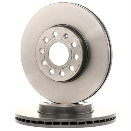 Brake Disc 09.9145.11 — current discounts on top quality OE 1K0615301K spare parts