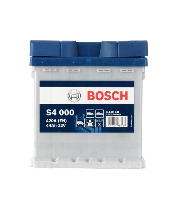 starterbatterie bosch s4 0 092 s40 001 batterie kapazit t 44ah jetzt kaufen. Black Bedroom Furniture Sets. Home Design Ideas