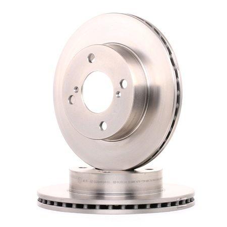 BD1608 BOSCH ventilado, oleado Ø: 231mm, N.º de furos: 4, Espessura do disco de travão: 20mm Disco de travão 0 986 479 778 comprar económica