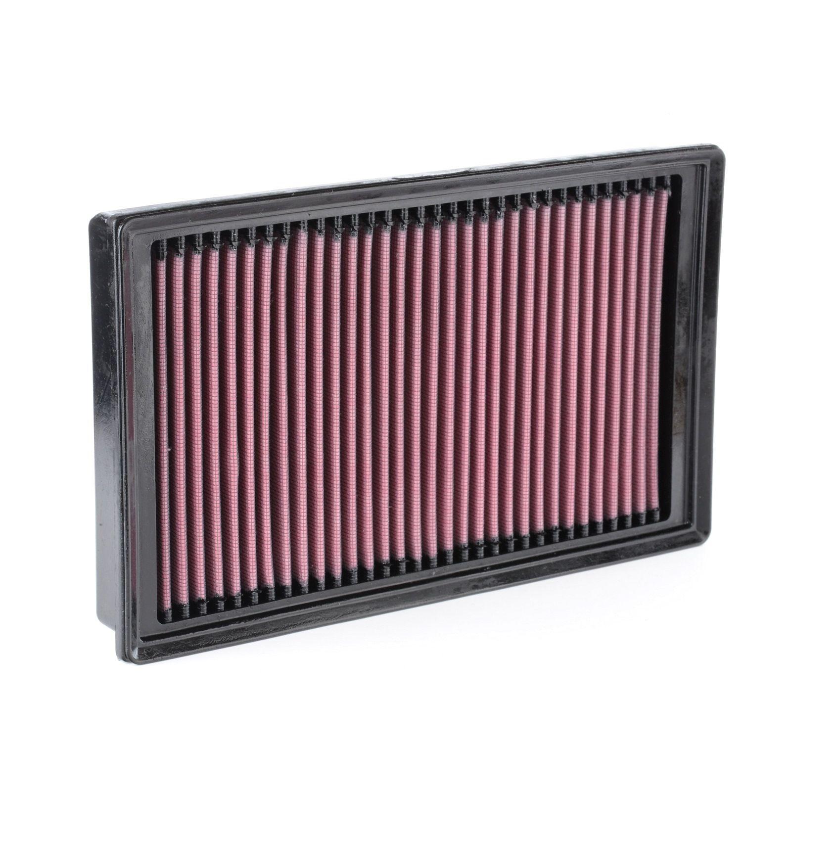 K&N Filters: Original Motorluftfilter 33-3005 (Länge: 294mm, Länge: 294mm, Breite: 178mm, Höhe: 32mm)