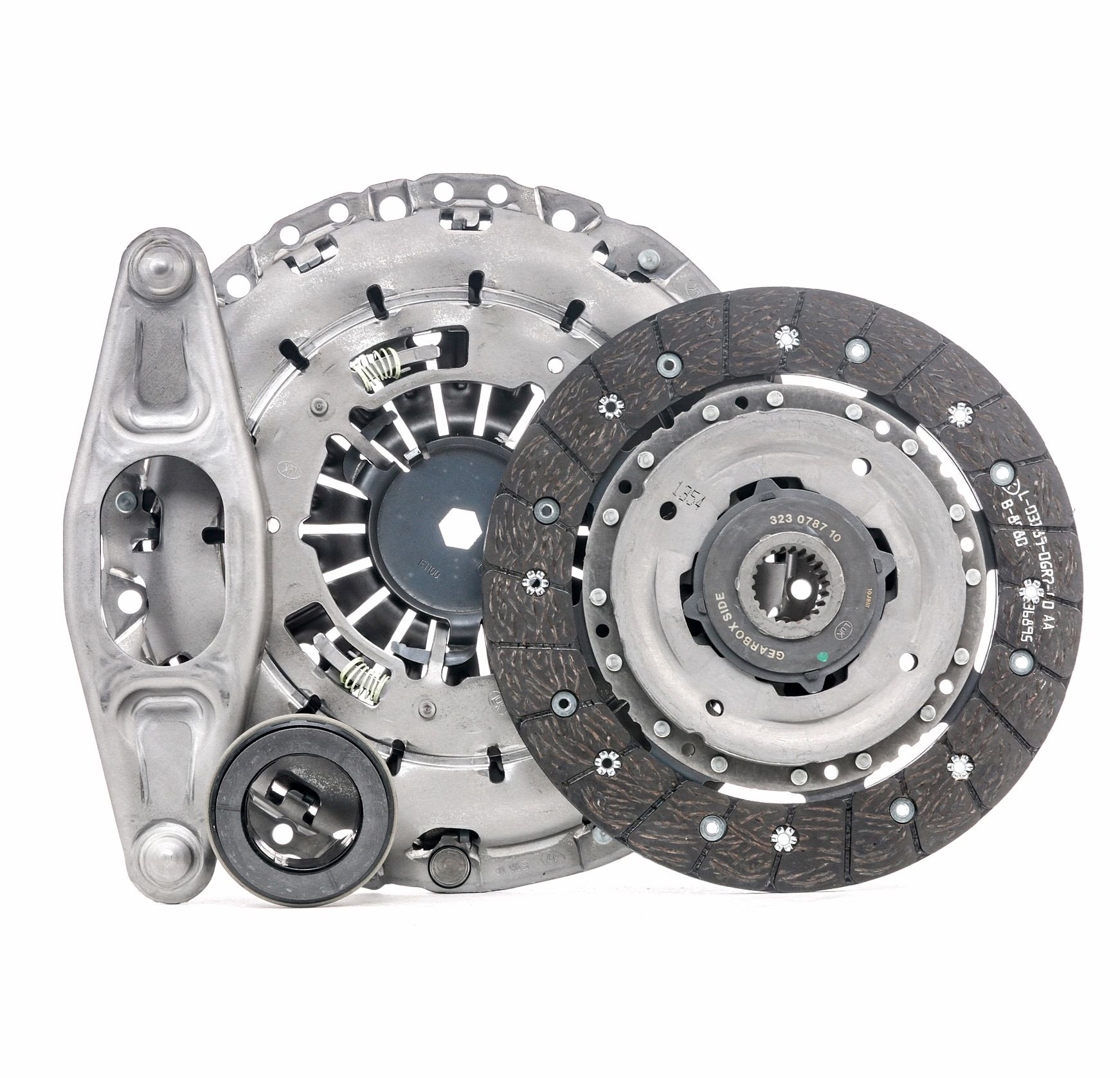 BMW 3 Series 2019 Clutch set LuK 624 3530 00: for engines with dual-mass flywheel, Check and replace dual-mass flywheel if necessary., Requires special tools for mounting, with clutch release bearing, with release fork