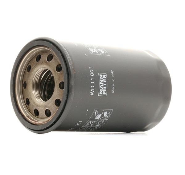 WD 11 001 MANN-FILTER Filter, Arbeitshydraulik sofort bestellen