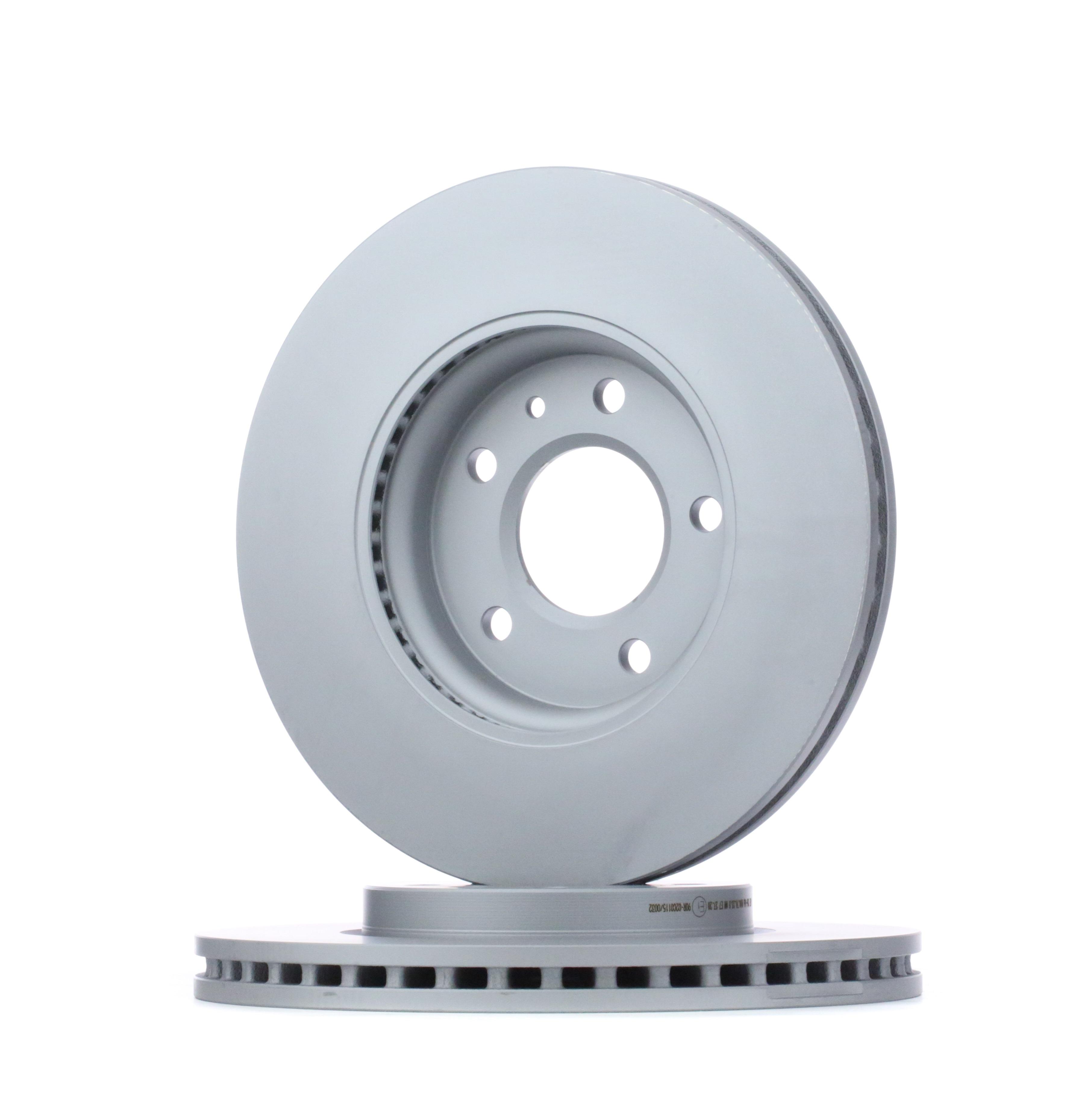426166 ATE belüftet, beschichtet, hochgekohlt, mit Schrauben Ø: 300,0mm, Lochanzahl: 5, Bremsscheibendicke: 26,0mm Bremsscheibe 24.0126-0166.1 günstig kaufen