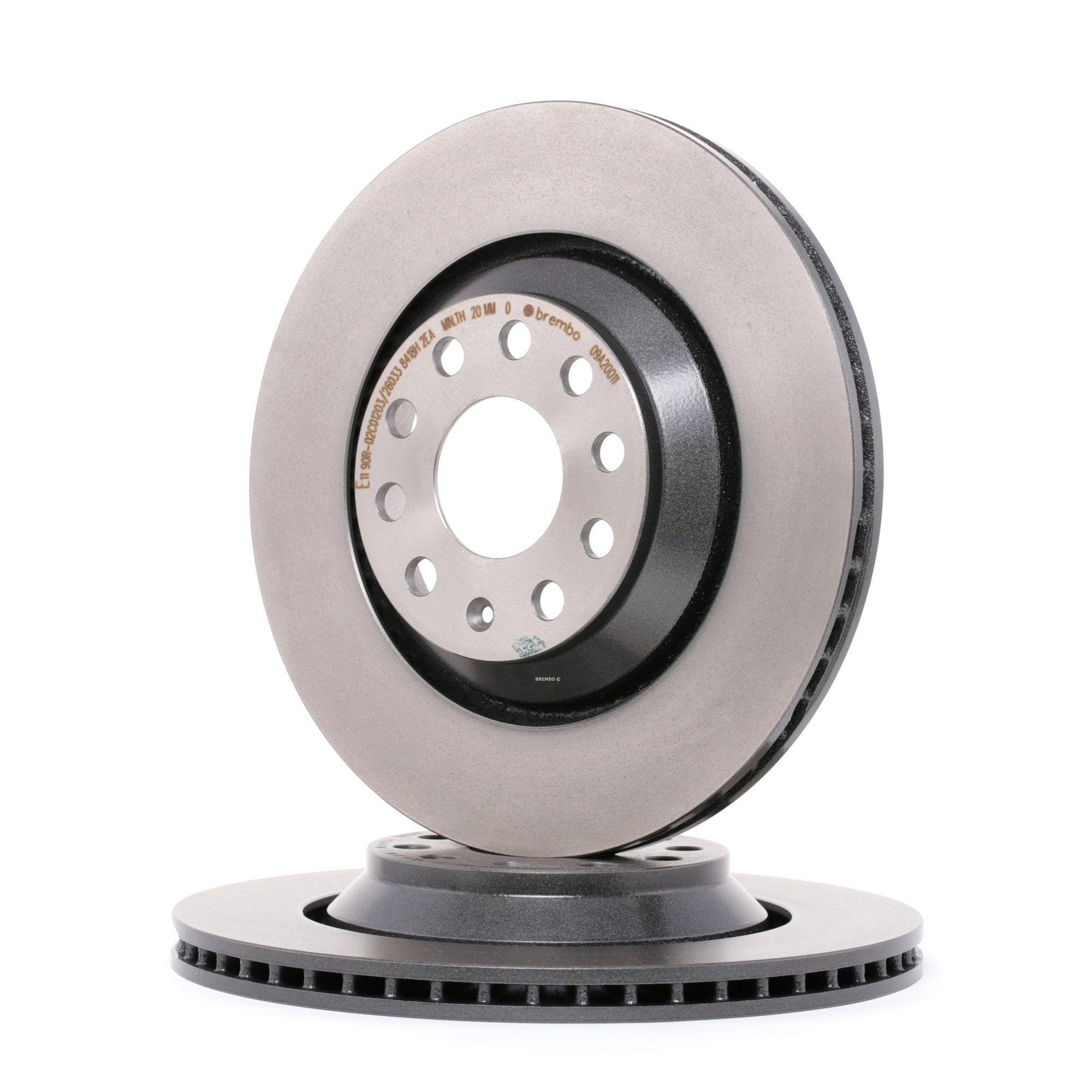 Achetez Disque BREMBO 09.A200.11 (Ø: 310mm, Nbre de trous: 5, Épaisseur du disque de frein: 22mm) à un rapport qualité-prix exceptionnel