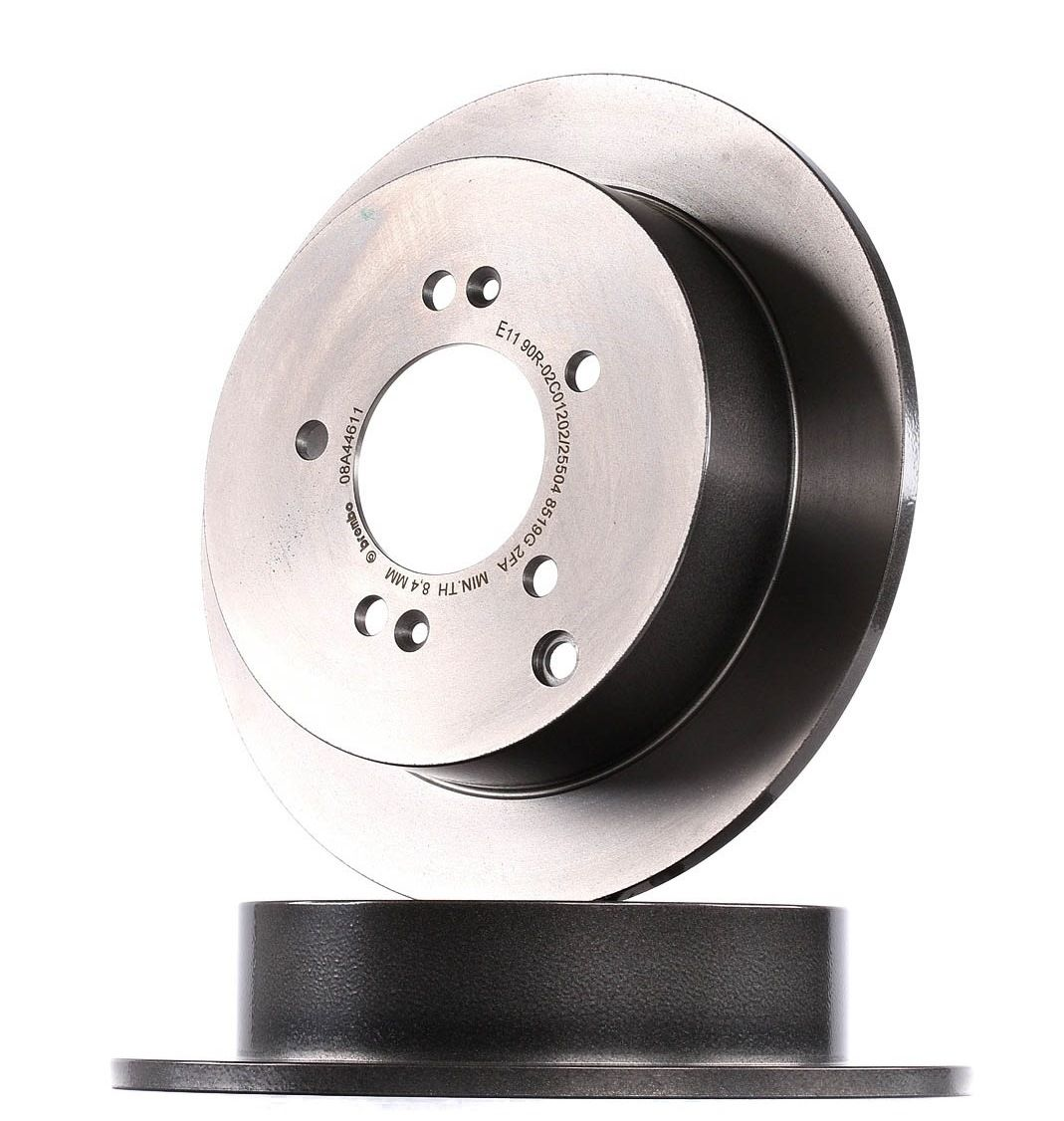 BREMBO: Original Scheibenbremsen 08.A446.11 (Ø: 284mm, Lochanzahl: 5, Bremsscheibendicke: 10mm)