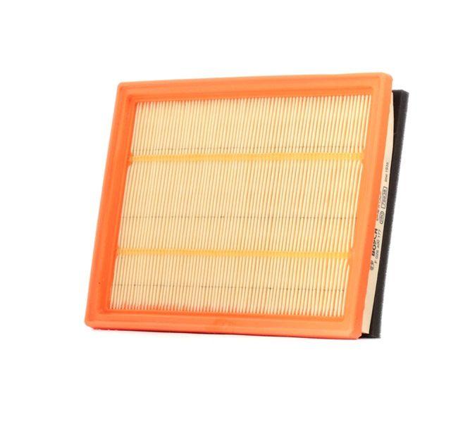 S0177 BOSCH Filtereinsatz Länge: 218mm, Breite: 166mm, Höhe: 38mm Luftfilter F 026 400 177 günstig kaufen
