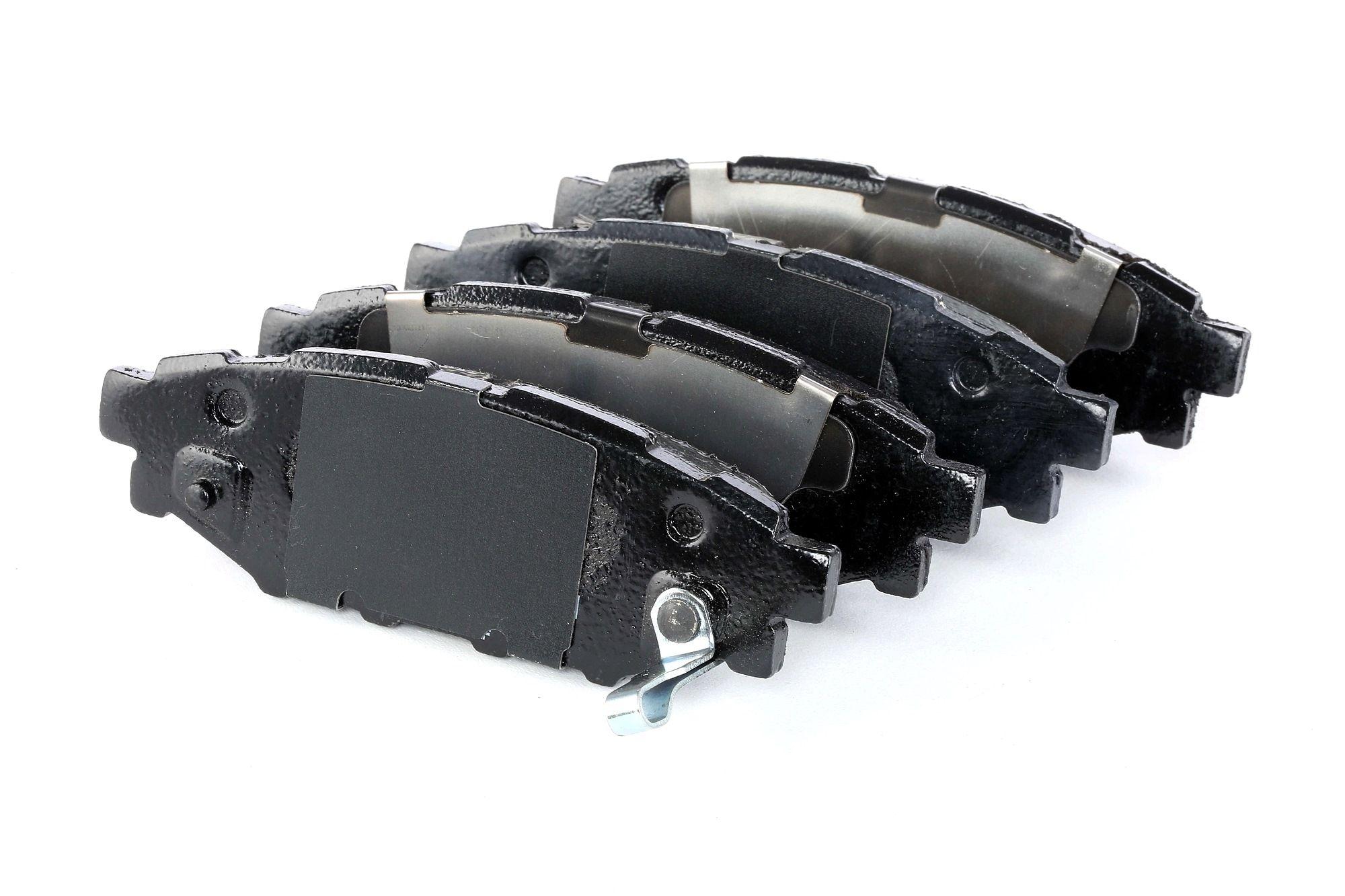 SUBARU LEGACY 2015 Bremsklötze - Original BOSCH 0 986 494 444 Höhe: 37,3mm, Breite: 110,8mm, Dicke/Stärke: 13,8mm