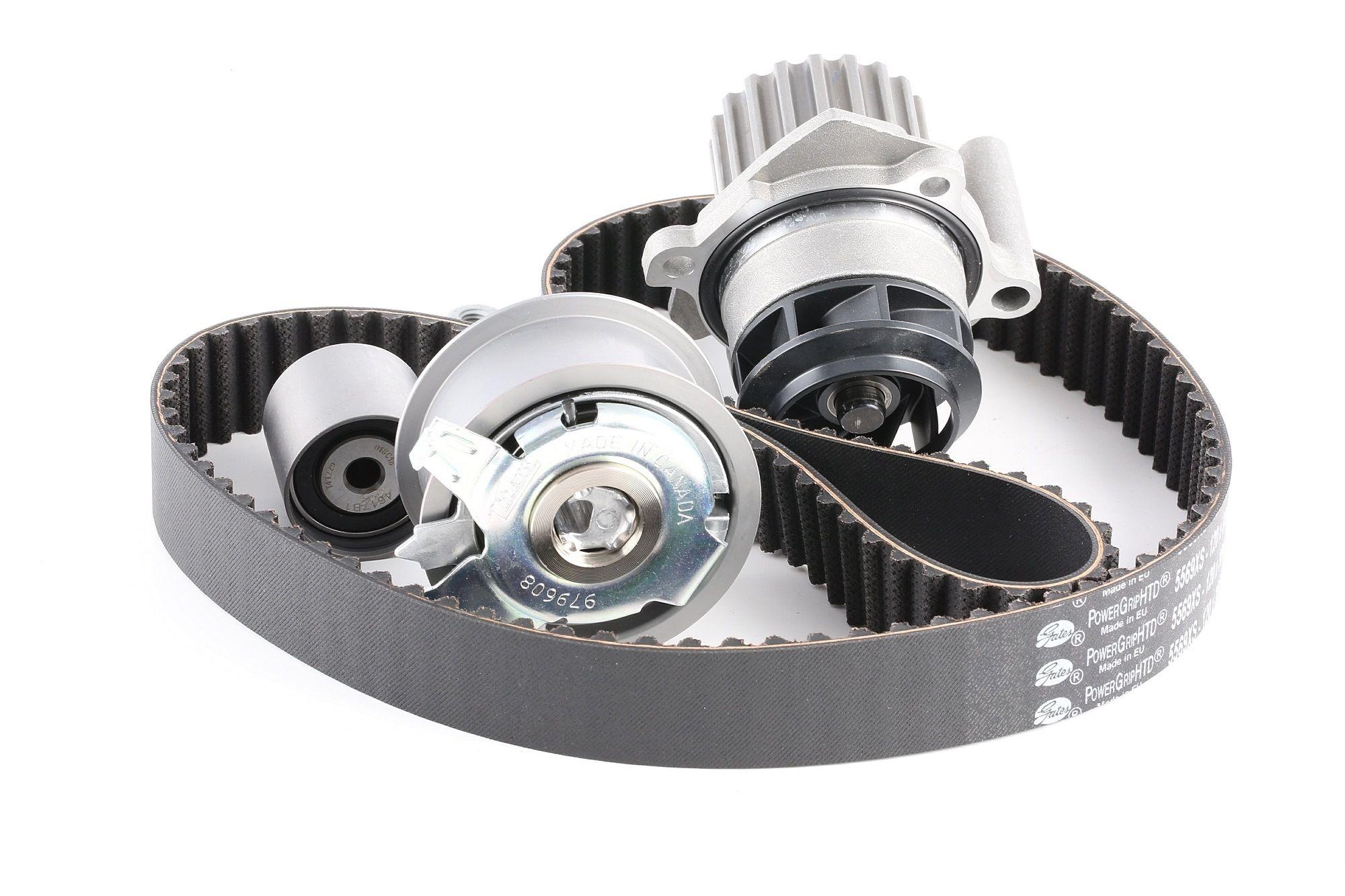 K055569XS GATES with water pump, BOOST™ CVT Belt Water Pump & Timing Belt Set KP55569XS-2 cheap