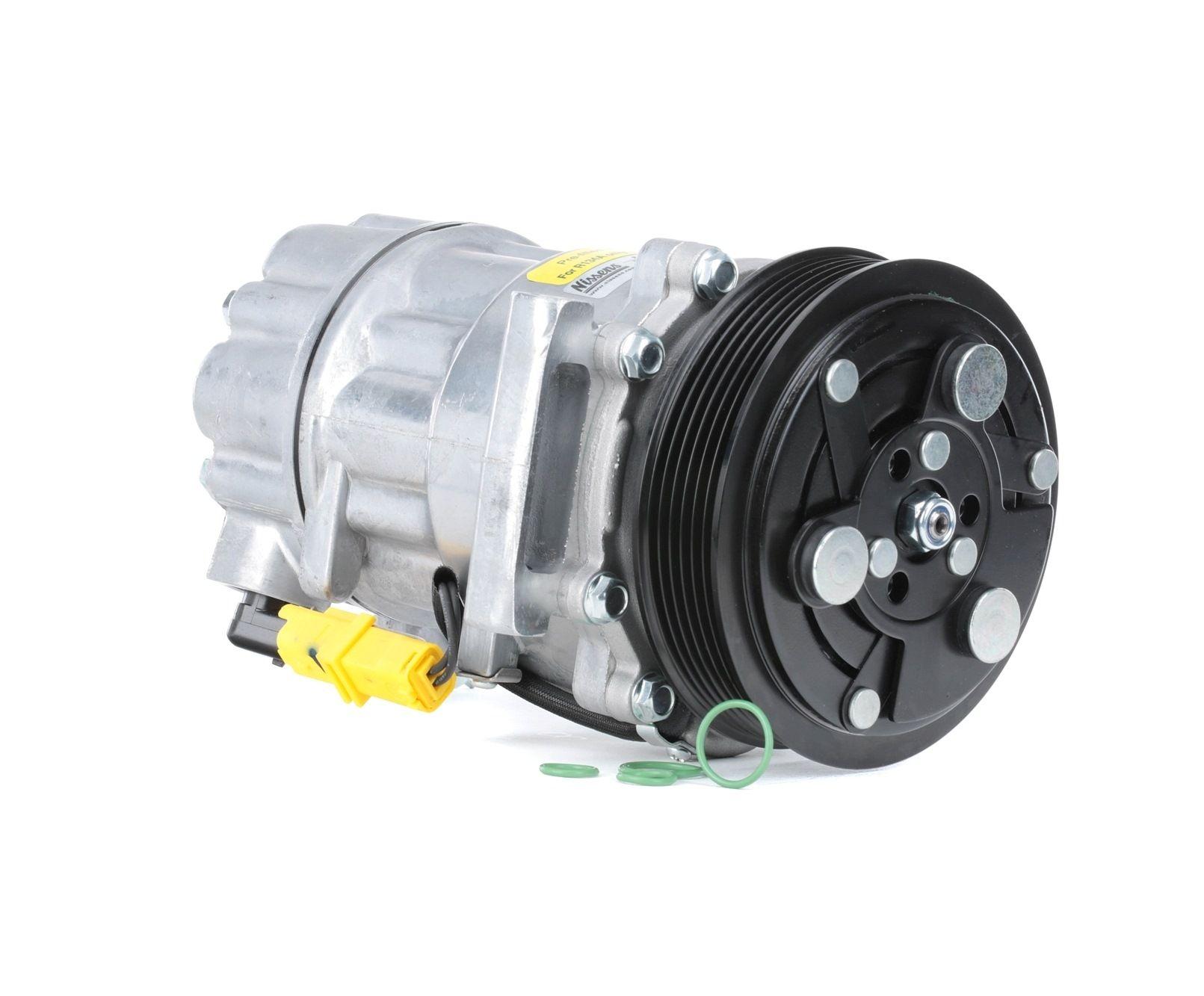 NISSENS: Original Kompressor Klimaanlage 89067 (Riemenscheiben-Ø: 119mm, Anzahl der Rillen: 6)