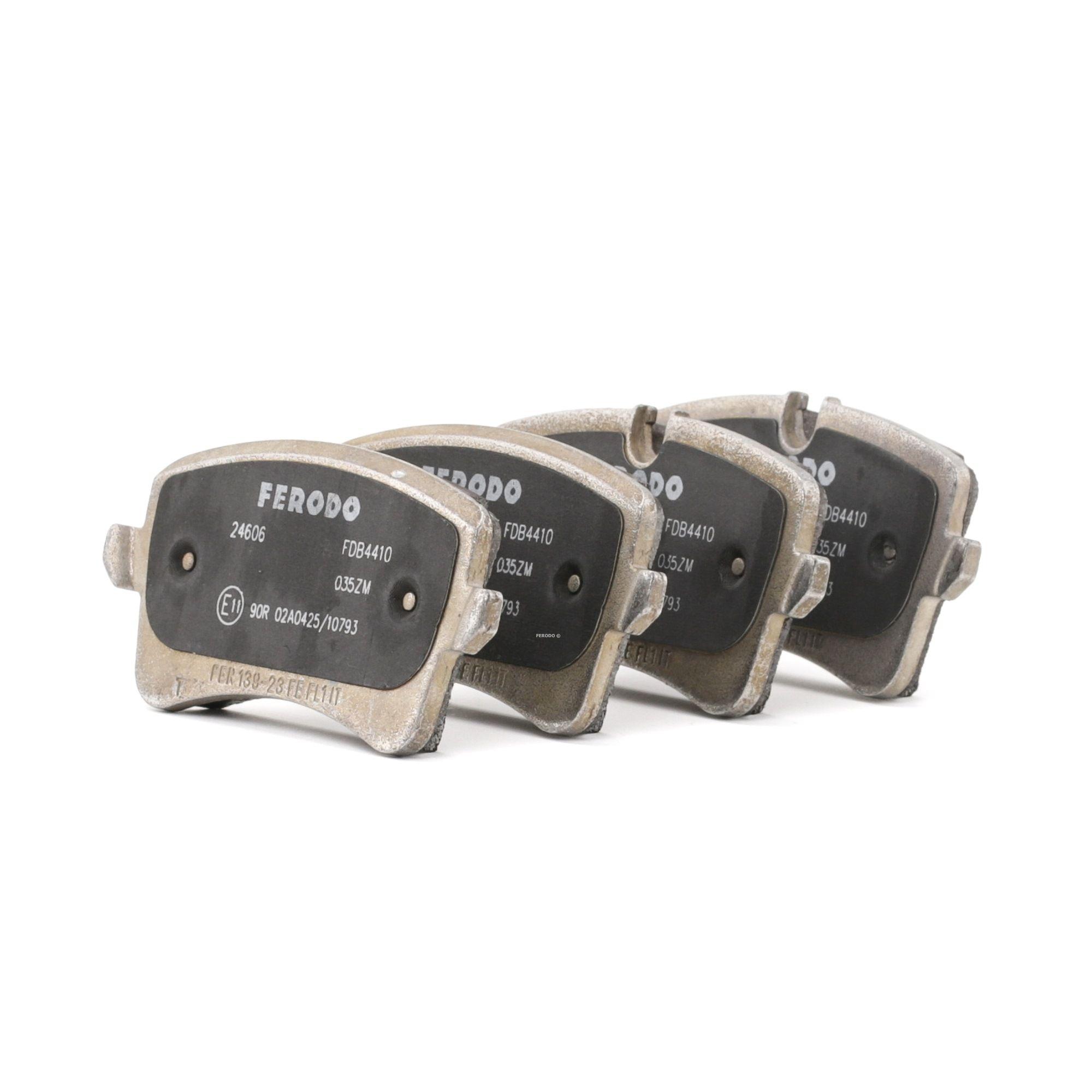 FERODO Brake Pads AUDI,PORSCHE FDB4410 4G0698451,4G0698451A,4G0698451B Disk Pads,Brake Pad Set, disc brake 4G0698451C,4G0698451H,4G0698451J,4G0698451K