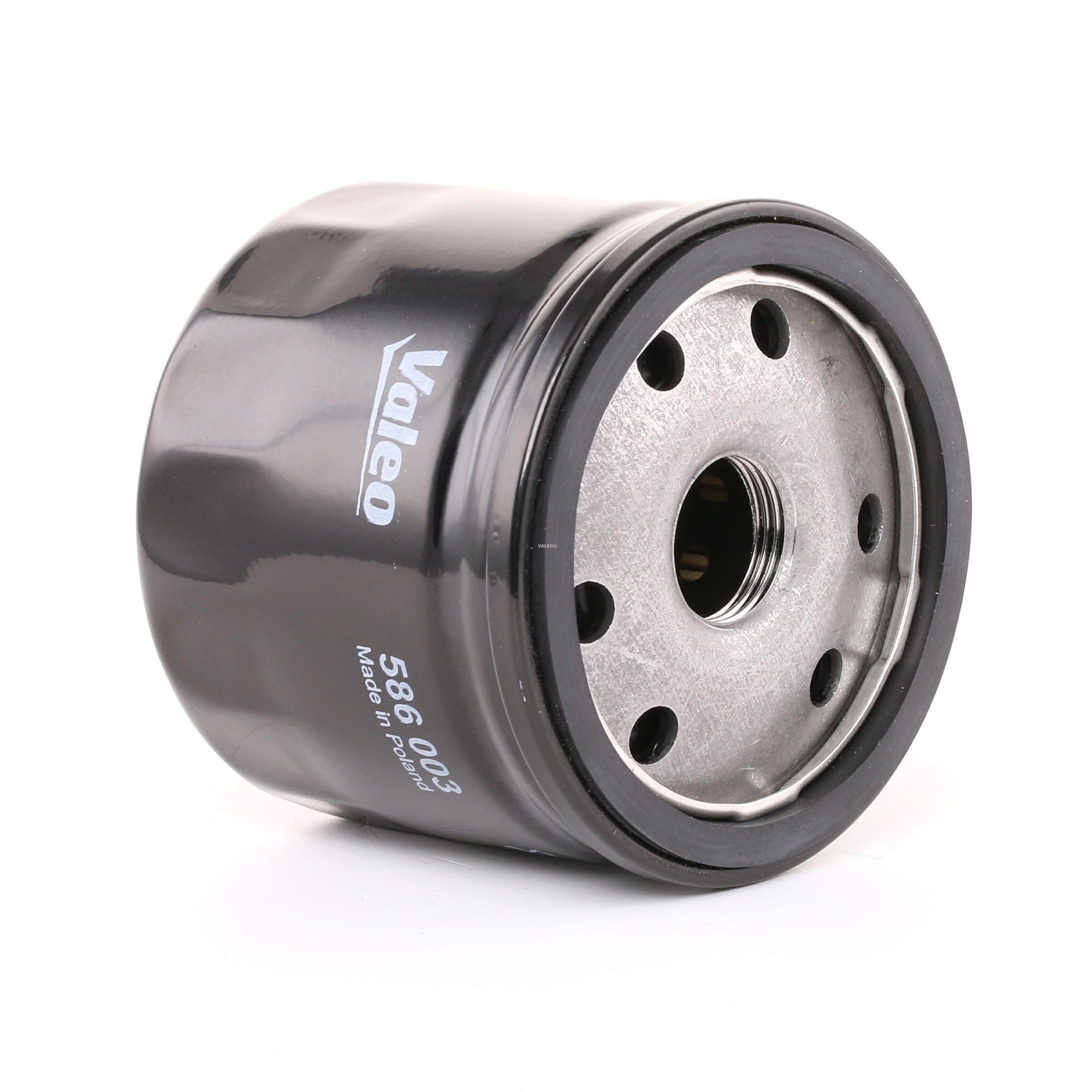 VALEO 586003 (Diamètre intérieur 2: 71mm, Diamètre intérieur 2: 62mm, Ø: 80mm, Hauteur: 64mm) : Filtre à huile Renault Kangoo kc01 2016