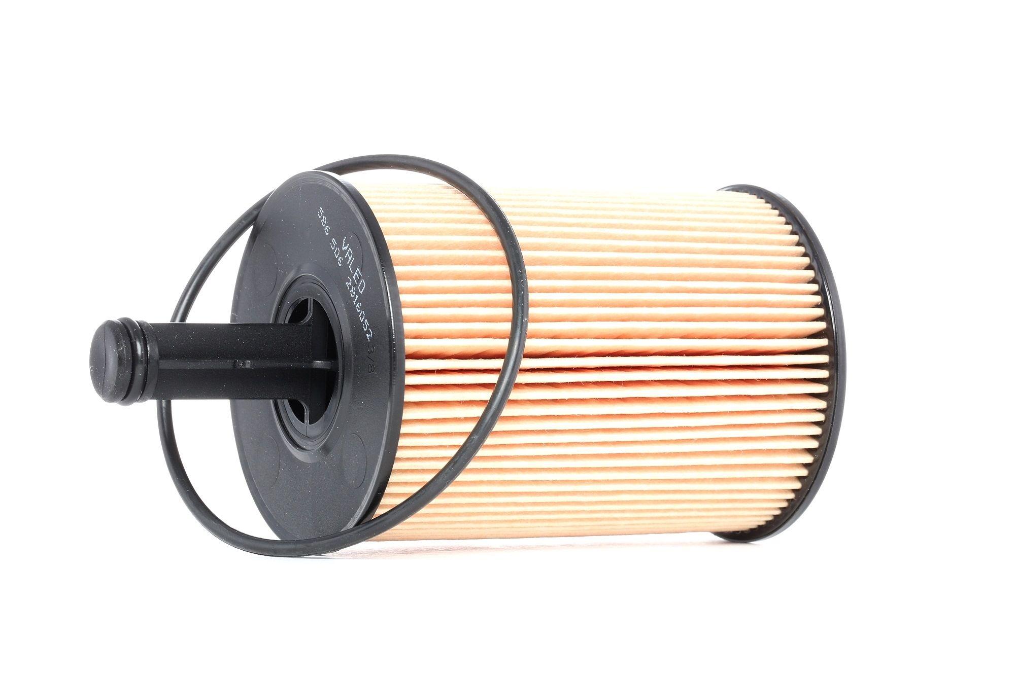 586506 VALEO mit Dichtung, Filtereinsatz Innendurchmesser 2: 15mm, Innendurchmesser 2: 48mm, Ø: 71mm, Höhe: 141mm Ölfilter 586506 günstig kaufen