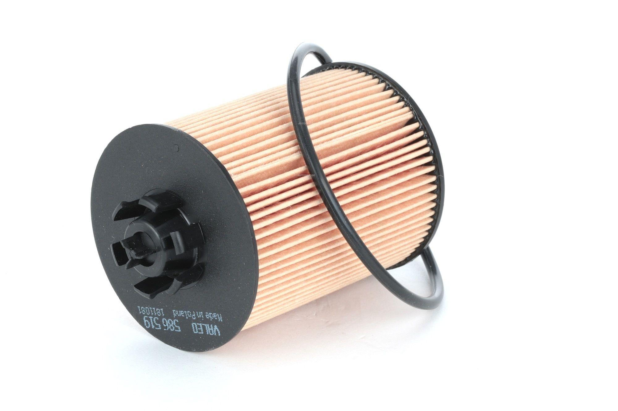 586519 VALEO Filtereinsatz Innendurchmesser 2: 28mm, Innendurchmesser 2: 30,5mm, Ø: 62mm, Höhe: 85mm Ölfilter 586519 günstig kaufen