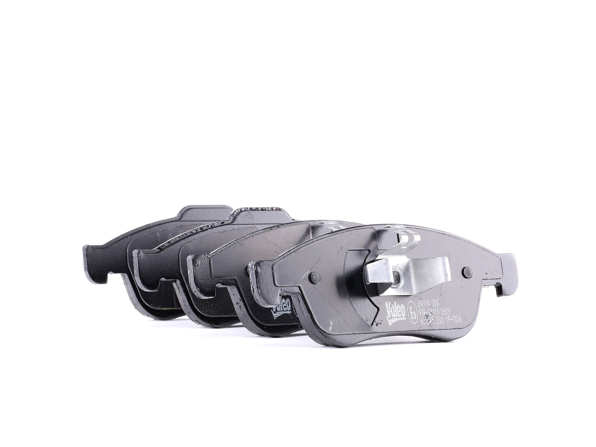 Origine Jeu de plaquettes de frein VALEO 601045 (Hauteur 2: 64,6mm, Hauteur: 59,5mm, Largeur 2: 155,2mm, Largeur: 155,2mm, Epaisseur 2: 18mm, Épaisseur: 18mm)