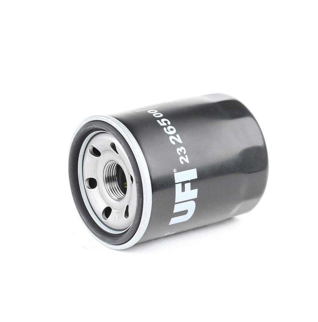 23.265.00 UFI Anschraubfilter, mit einem Rücklaufsperrventil Innendurchmesser 2: 56,0mm, Ø: 68,0mm, Außendurchmesser 2: 64,0mm, Höhe: 87,5mm Ölfilter 23.265.00 günstig kaufen