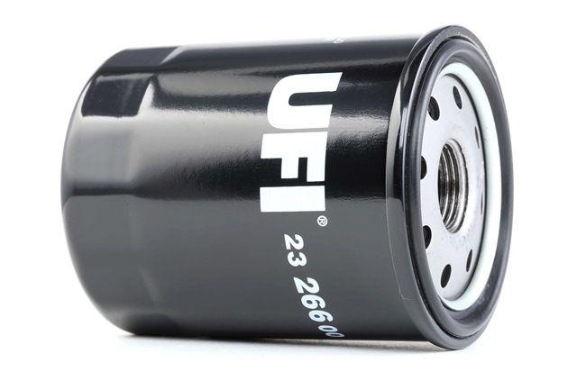 23.266.00 UFI mit einem Rücklaufsperrventil Innendurchmesser 2: 55,0mm, Ø: 65,5mm, Außendurchmesser 2: 62,0mm, Höhe: 91,0mm Ölfilter 23.266.00 günstig kaufen