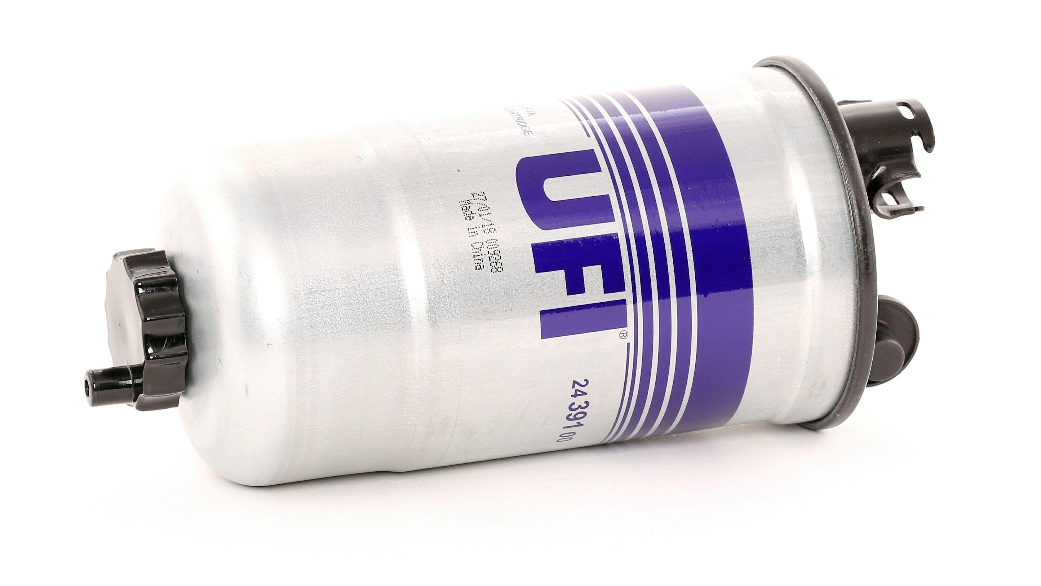 Osta 24.391.00 UFI Filtrer Kõrgus: 176,5mm Kütusefilter 24.391.00 madala hinnaga