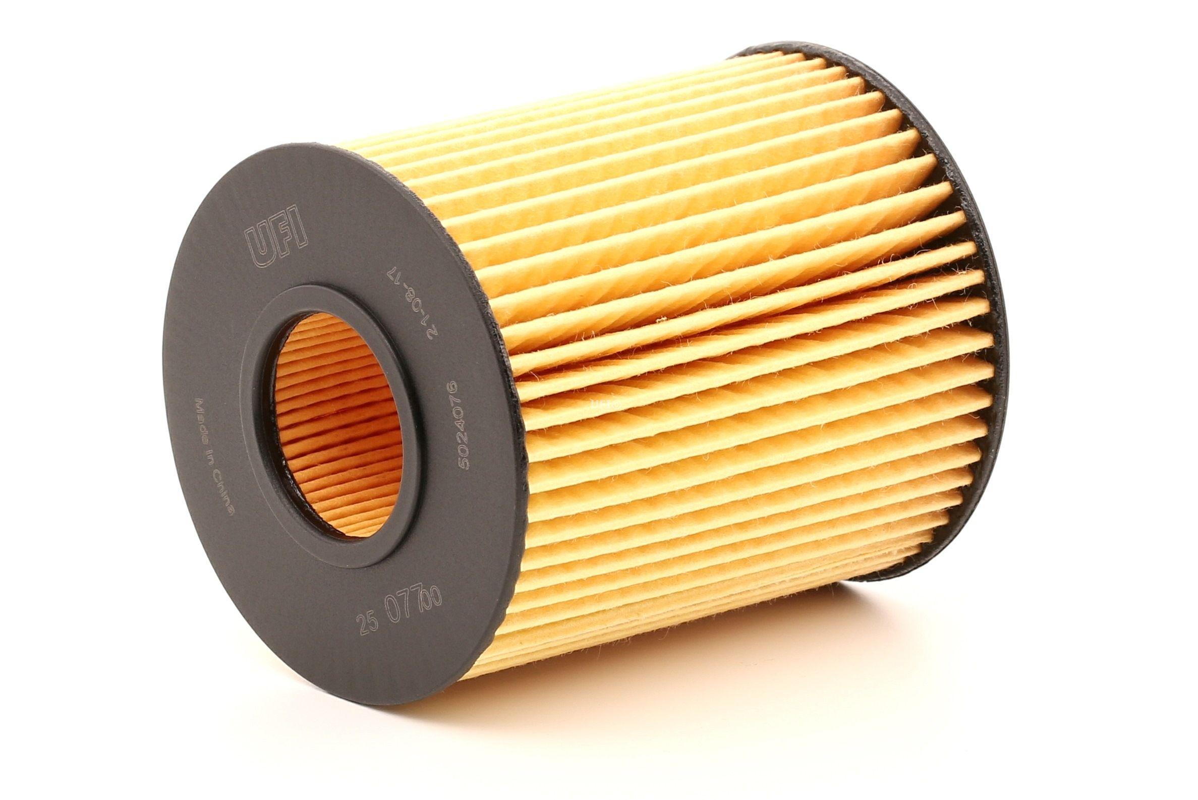 Alyvos filtras 25.077.00 UFI — tik naujos dalys