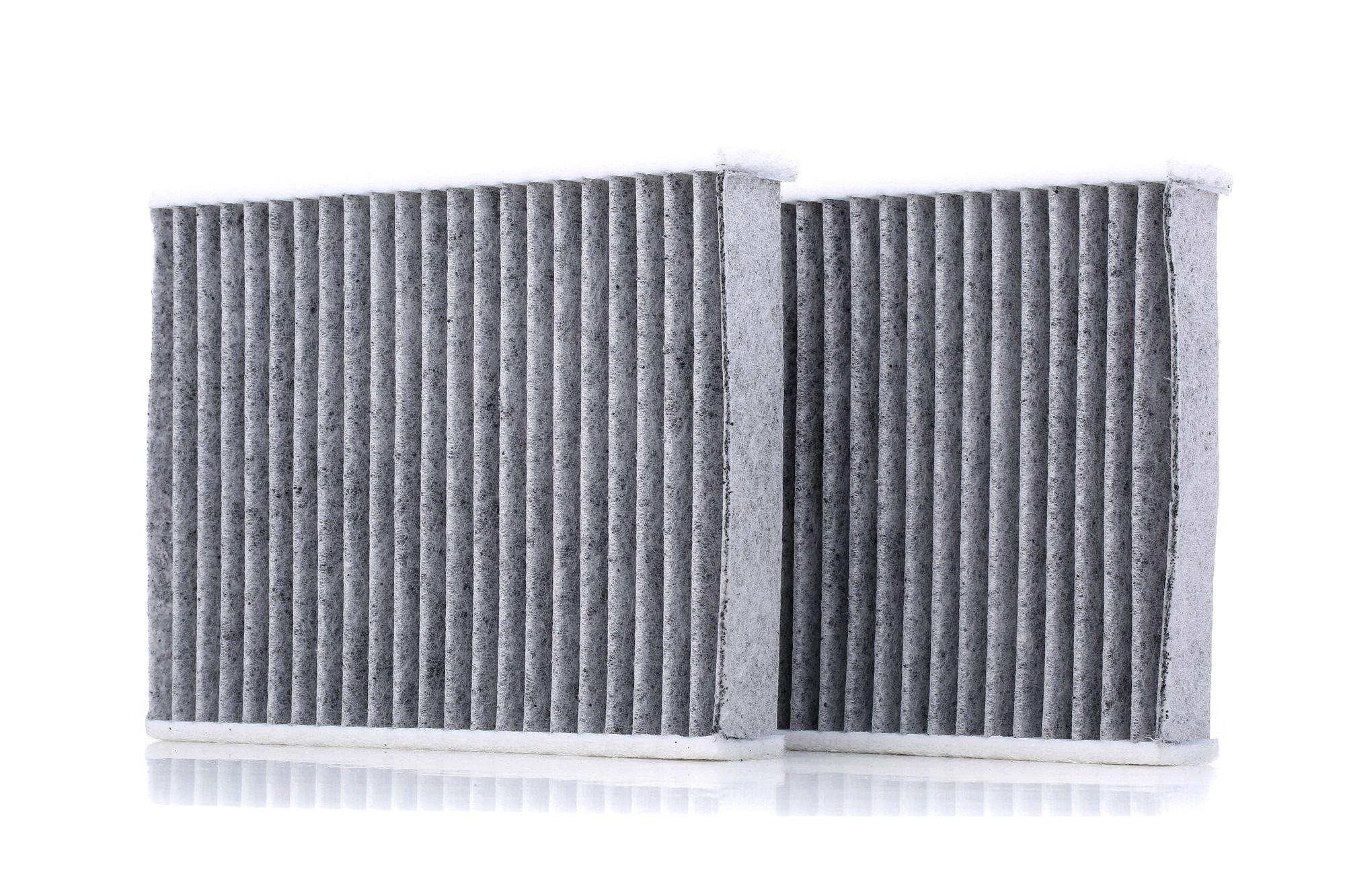 54.104.00 UFI Charcoal Filter Width: 139,0mm, Height: 30,0mm, Length: 175,0mm Filter, interior air 54.104.00 cheap