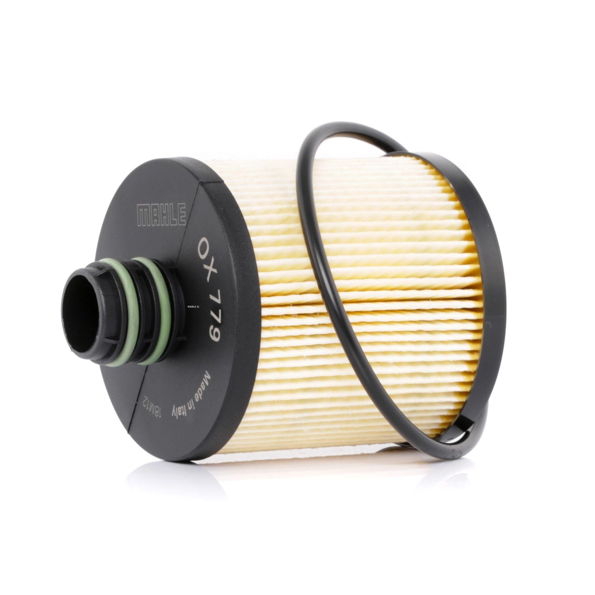 OX779DECO MAHLE ORIGINAL Filtereinsatz Ø: 72,1mm, Ø: 72,1mm, Höhe: 101mm, Höhe 1: 74mm Ölfilter OX 779D günstig kaufen