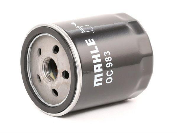 Oil filter OC 983 with an exceptional MAHLE ORIGINAL price-performance ratio