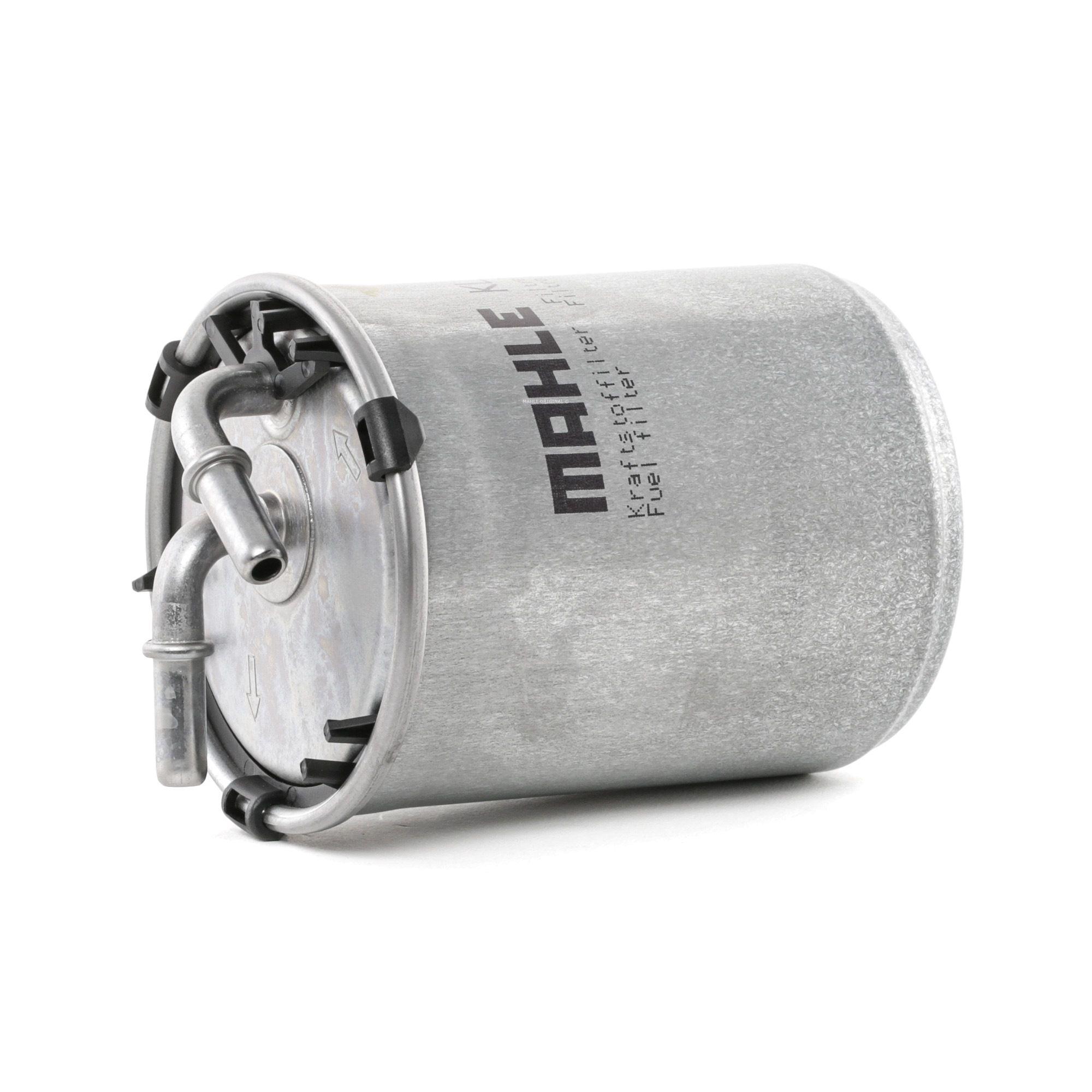 Køb 79927317 MAHLE ORIGINAL Ledningsfilter Höhe: 132mm, Gehäusedurchmesser: 80mm Brændstof-filter KL 778 billige