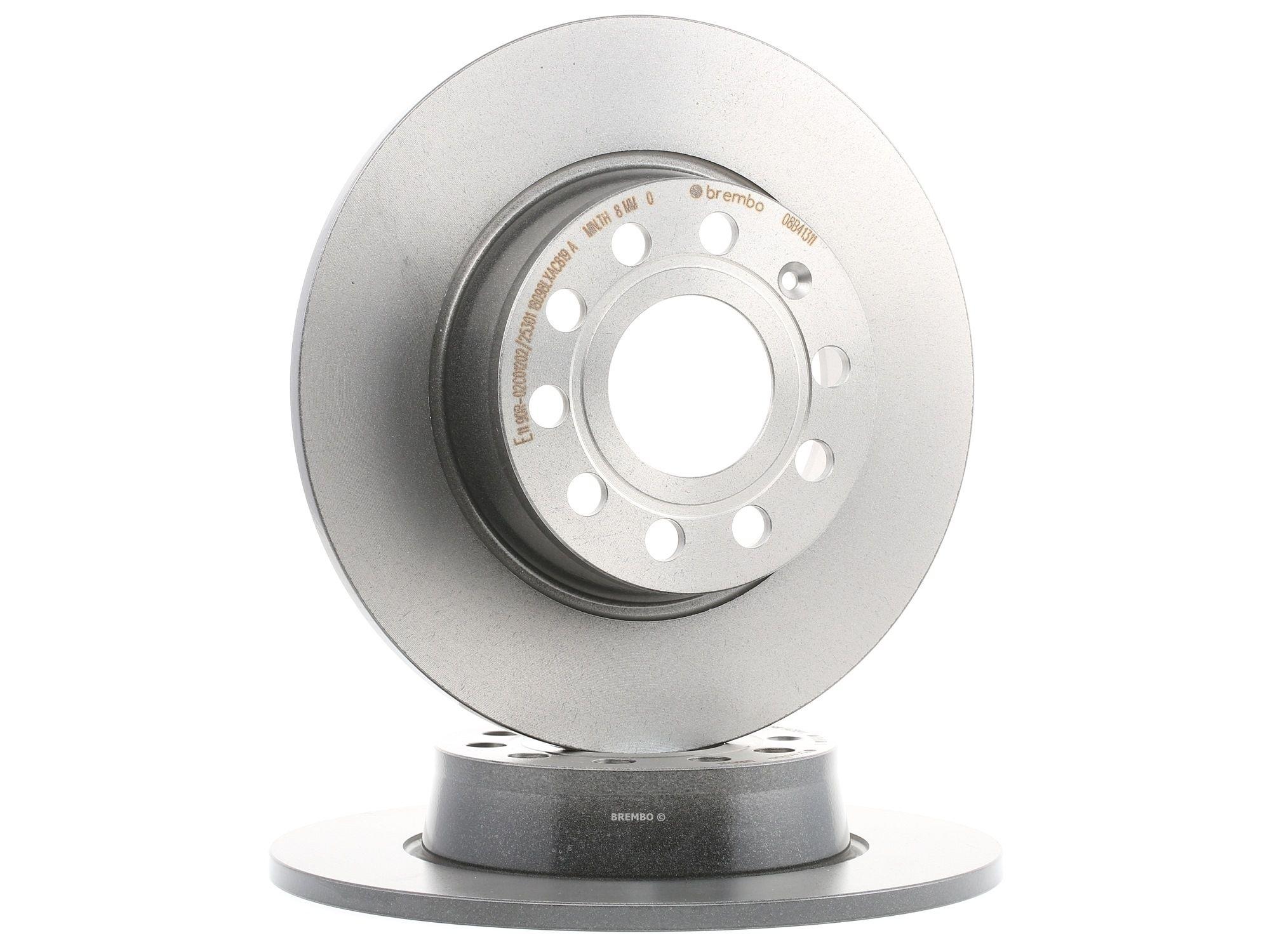 Buy original Brake disc kit BREMBO 08.B413.11