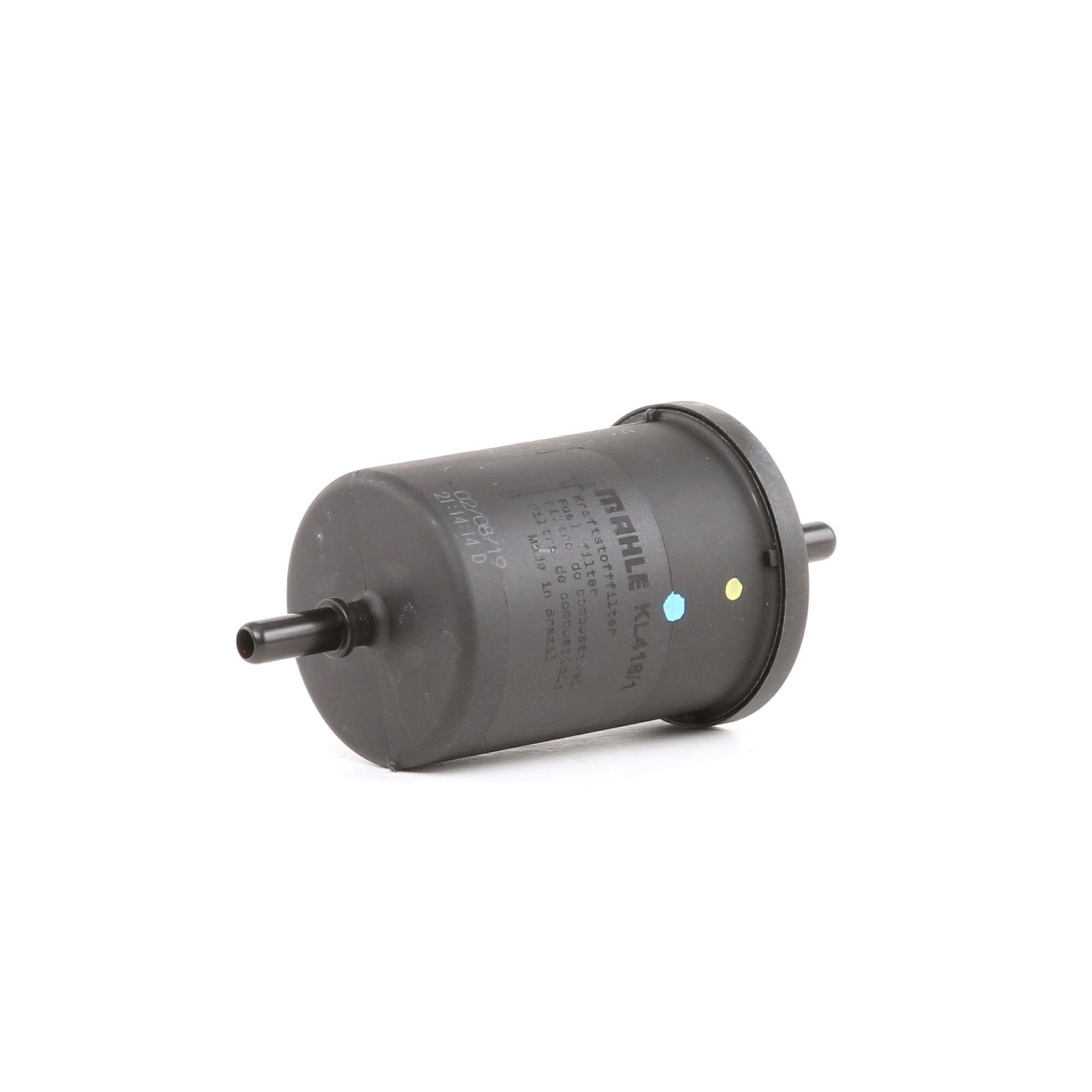 Pieces detachees RENAULT EXPRESS 1996 : Filtre à carburant MAHLE ORIGINAL KL 416/1 Hauteur: 142mm, Diamètre du boîtier: 55mm - Achetez tout de suite!
